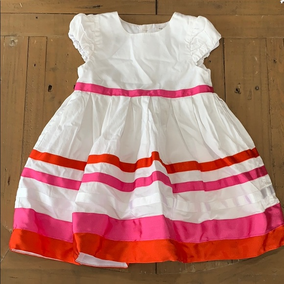 4/$20 Carters Grosgrain ribbon dress
